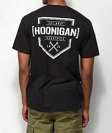 Hoonigan Bracket X Black T-Shirt
