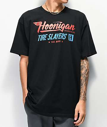 Hoonigan Factory Team Black T-Shirt
