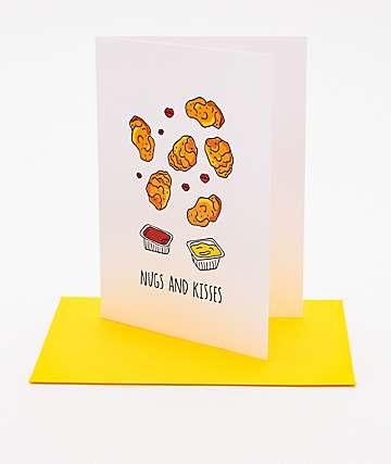 Humdrum Chx Nugs And Kisses Card