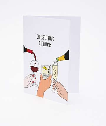 Humdrum Pour Decisions Card