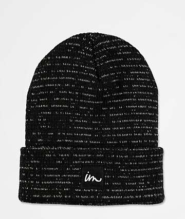 Imperial Motion 1X1 Reflective Black Beanie