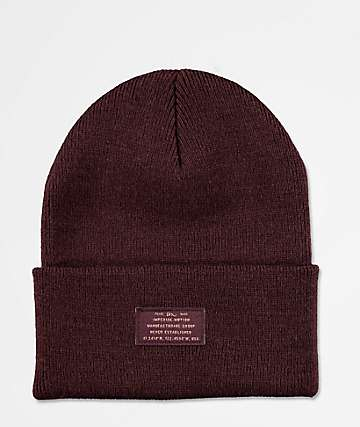 Imperial Motion Coordinates Burgundy Beanie