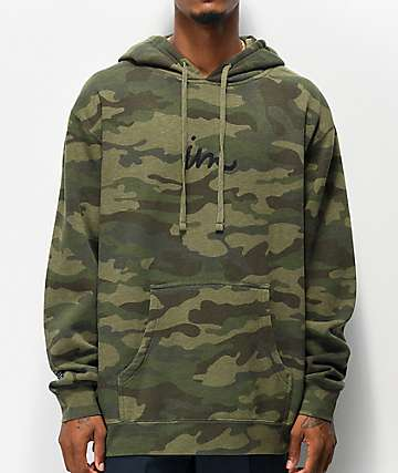 Imperial Motion Curser Green Camo Hoodie