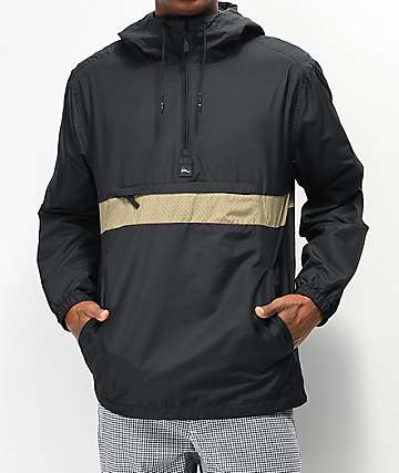 Imperial Motion Fleet Ghost Black Anorak Jacket