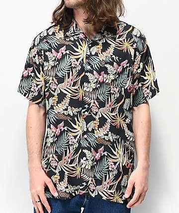 Imperial Motion Kingpin camisa tejida de manga corta floral