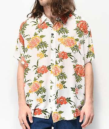 Imperial Motion Vacay camisa tejida de manga corta floral
