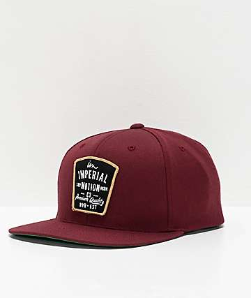 Imperial Motion Warrant gorra granate