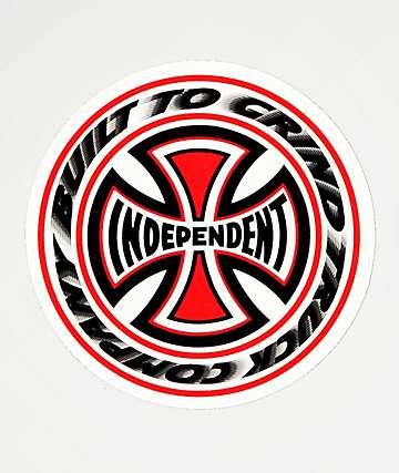 Independent Blaze Sticker