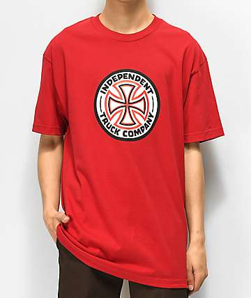 Independent Cross camiseta roja