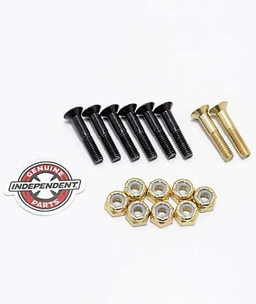 "Independent Gold Crossbolts 1"" tornillos skate"