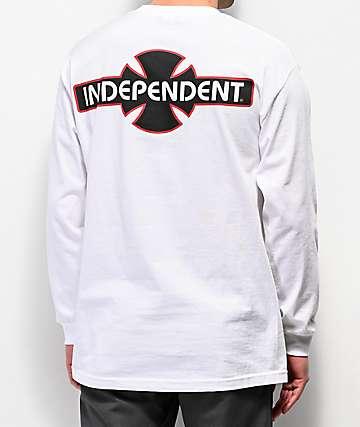 Independent O.G.B.C. Vertical  camiseta blanca de manga larga