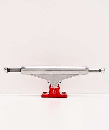 Independent Silver & Red 144 Skateboard Truck