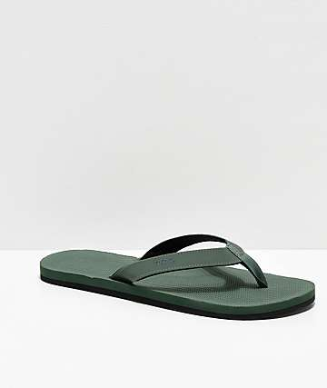 Indosole ESSNTLS Leaf Green Sandals