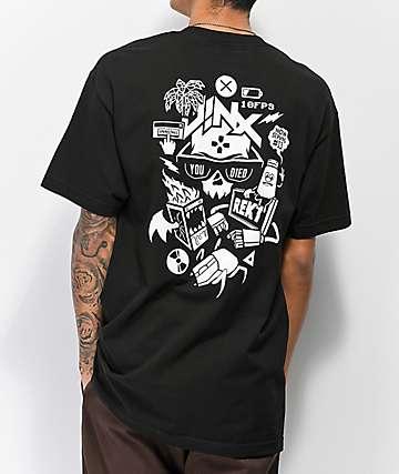 J!NX Now Serving Black T-Shirt