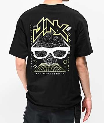 J!NX Poly Crusher Black T-Shirt