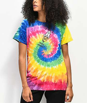 JV by Jac Vanek Later Nerds Tie Dye T-Shirt