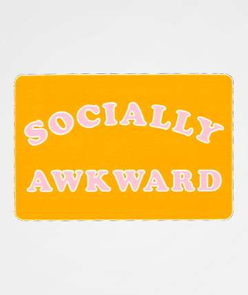 JV by Jac Vanek Socially Awkward Sticker