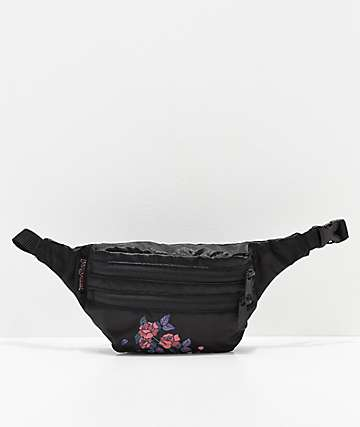 JanSport Hippyland Rose Satin Fanny Pack
