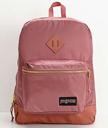 JanSport Super FX Mocha & Gold Backpack