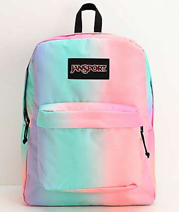 JanSport Superbreak Pastel Ombre Backpack