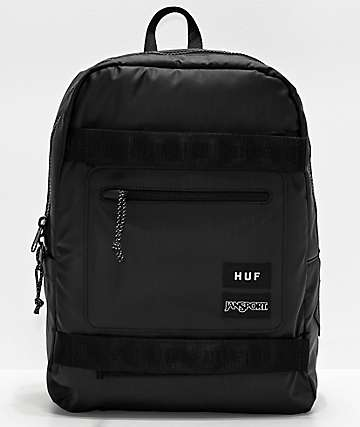 JanSport x HUF Skate Break Black Backpack