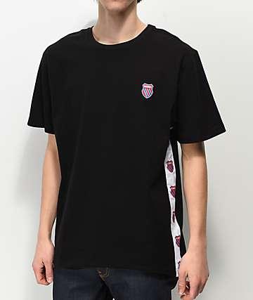 K-Swiss Badged camiseta negra