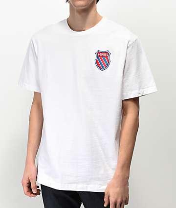 K-Swiss My Swiss White T-Shirt