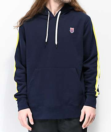 K-Swiss Taped Navy Blue Hoodie
