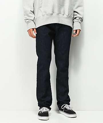 KR3W Klassic Dark Blue Jeans