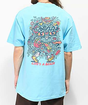 Killer Acid Beach Blue T-Shirt
