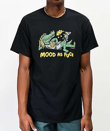 Killer Acid Mood AF Black T-Shirt