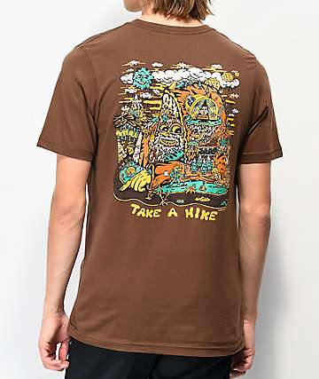 Killer Acid Take A Hike Brown T-Shirt