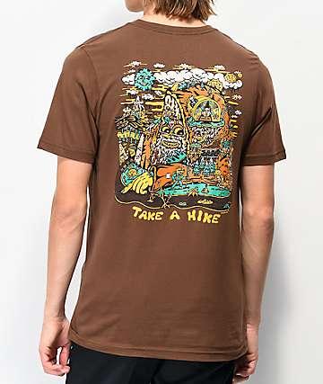 Killer Acid Take A Hike Brown T-Shirt