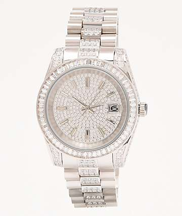 King Ice The Royal White Gold Analog Watch