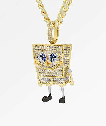 King Ice x Spongebob Squarepants XL collar con colgante