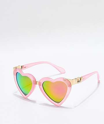 Kip Revolution Pink & Purple Sunglasses
