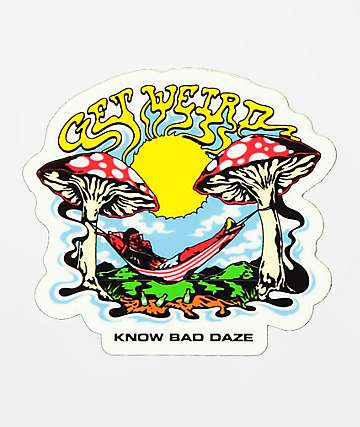 Know Bad Daze Weirdo Sticker