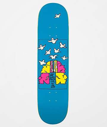 "Krooked Cromer Qwuatro 8.06"" Skateboard Deck"