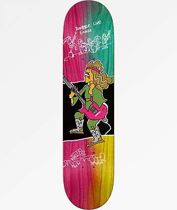 """Krooked Gonz Live 8.38"""" Skateboard Deck"""