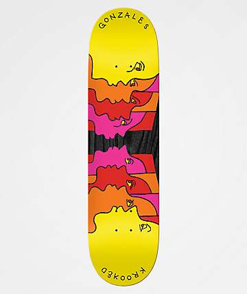 "Krooked Gonzales Face Off 8.25"" Skateboard Deck"