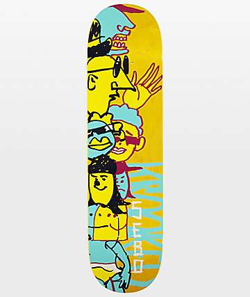 "Krooked Sebo Dewds 8.25"" Skateboard Deck"