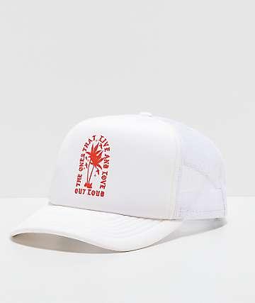 LOL Cartel Concert gorra blanca de camionero