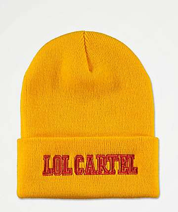 LOL Cartel High Yellow Beanie