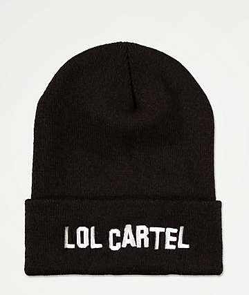 LOL Cartel Hollywood Black Beanie