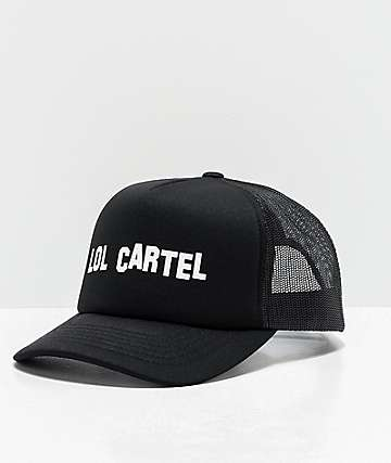 LOL Cartel Hollywood Black Trucker Hat