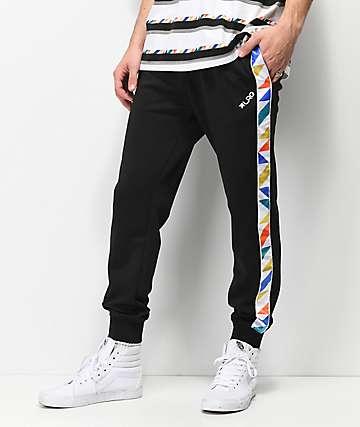 LRG Andrade Black Track Pants