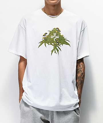 LRG Fungus High White T-Shirt