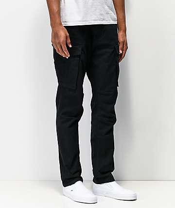 LRG Recruit Black Cargo Pants