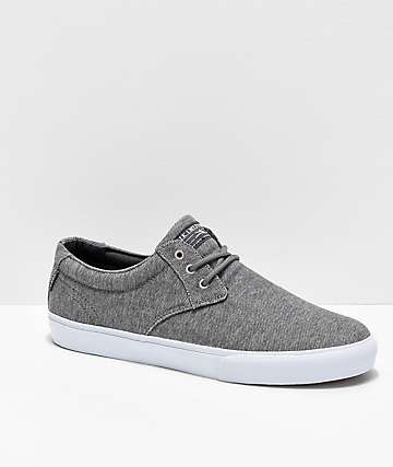 Lakai Daly Charcoal Textile Skate Shoes