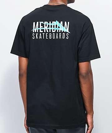 Lakai x Meridian City Black T-Shirt